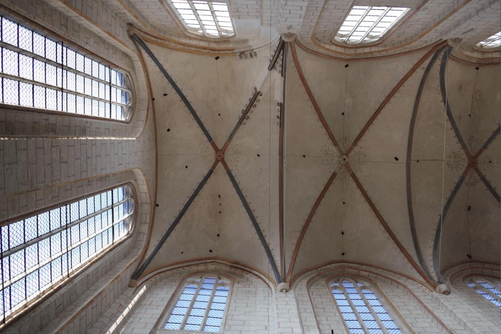 Deckengewölbe Katharinenkirche (Fachschaftsfoto Religion)
