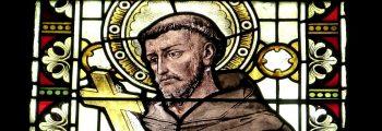 1209 gründet der Heilige Franziskus nach einem Bekehrungserlebnis den Franziskanerorden, der sich als Bettelorden für Arme und Schwache einsetzt.