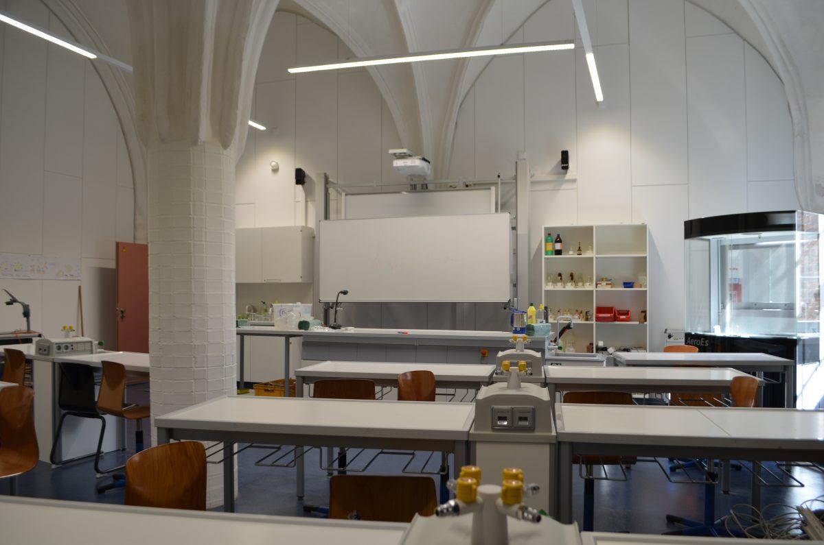 Unser neuer Chemieübungsraum