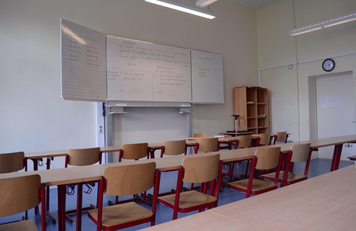 Ein normaler Unterrichtsraum