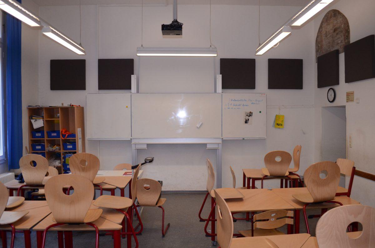 Normaler Unterrichtsraum
