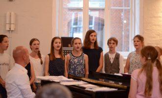 Gesang des Stufenchores