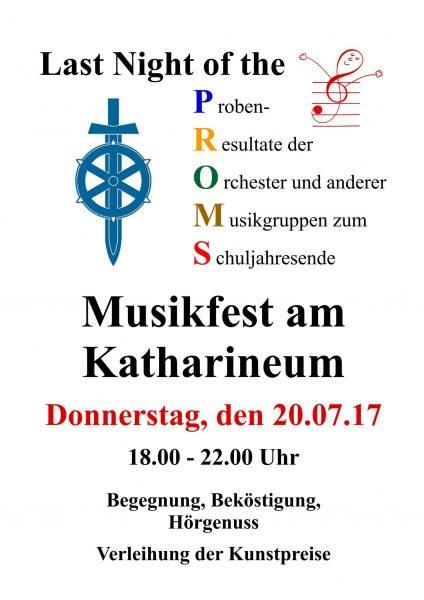 Plakat/Einladung