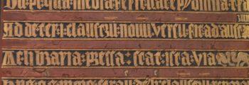 1350 wird aufgrund eines Pestausbruchs genug gespendet, um den Neubau des Klosters zu beenden. Angeblich sind dabei übersinnliche Kräfte im Spiel… Die zugehörige Bauinschrift ist heute noch zu sehen.