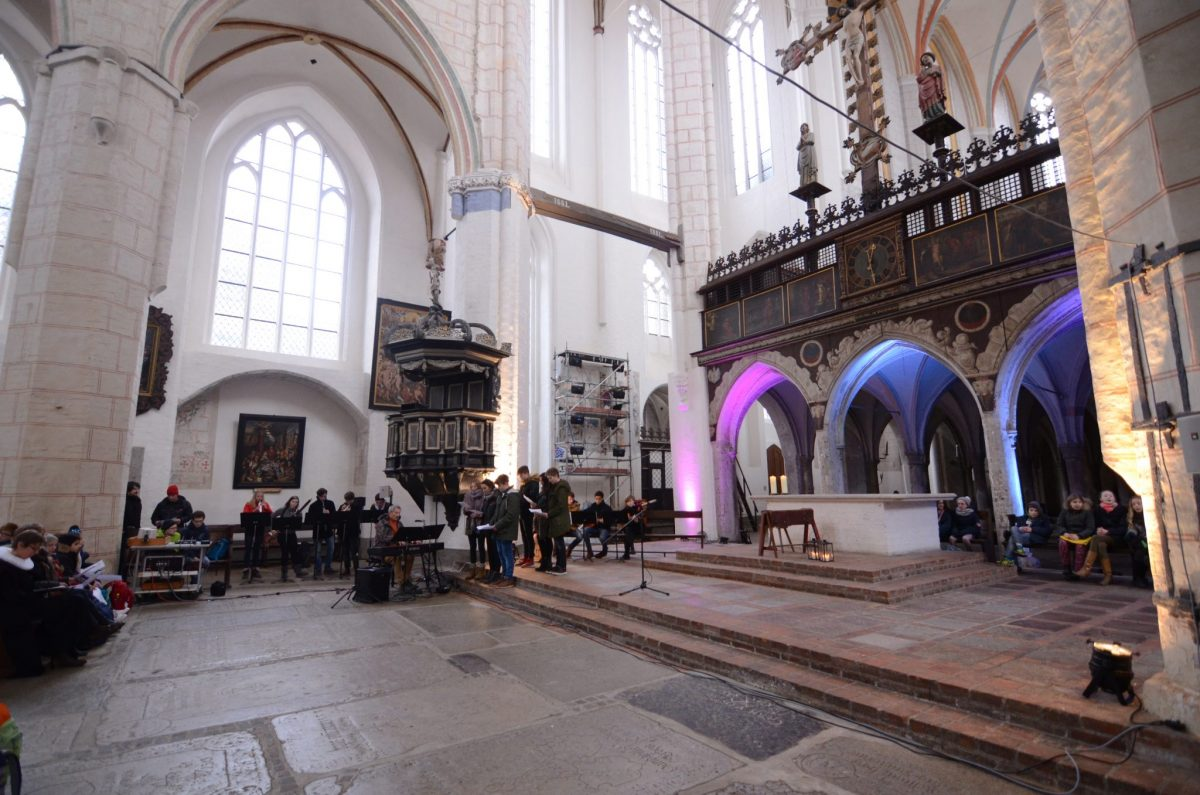 Atmosphäre in der Kirche