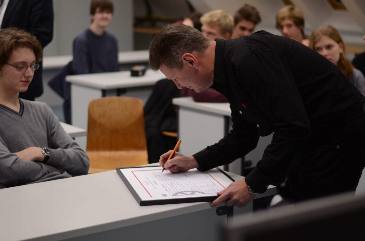Unterschrift der Fachschaft Physik