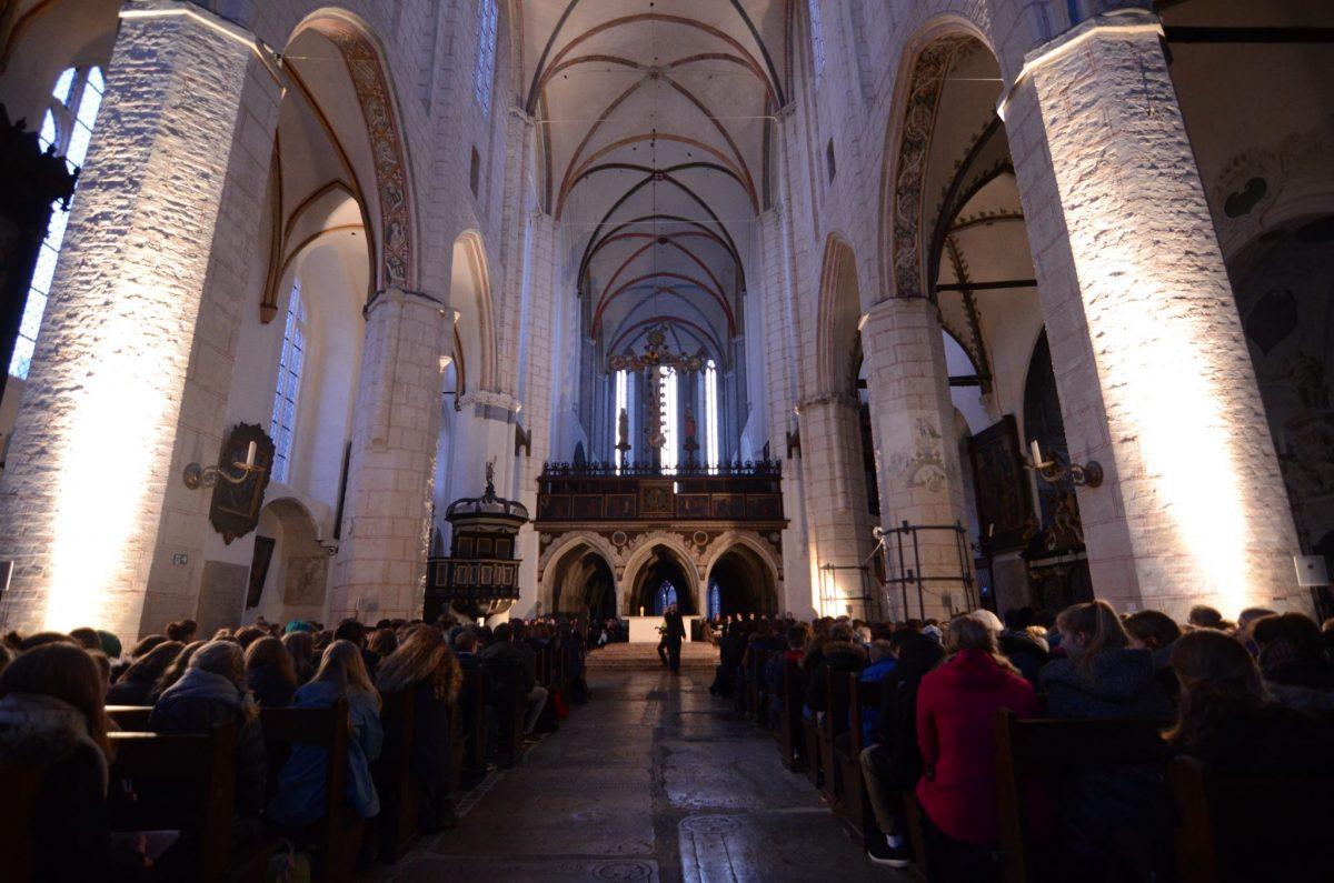 Andacht in der Katharinenkirche