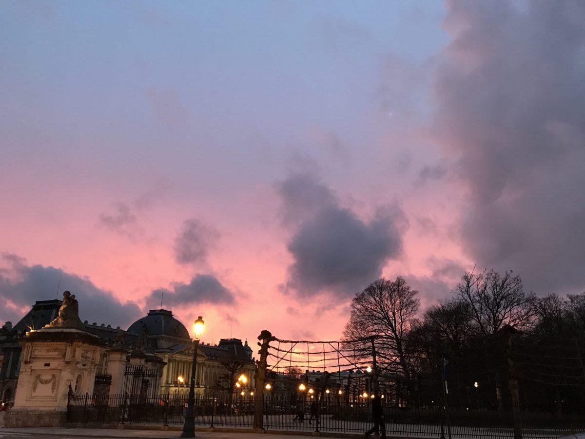 Brüssel am Abend
