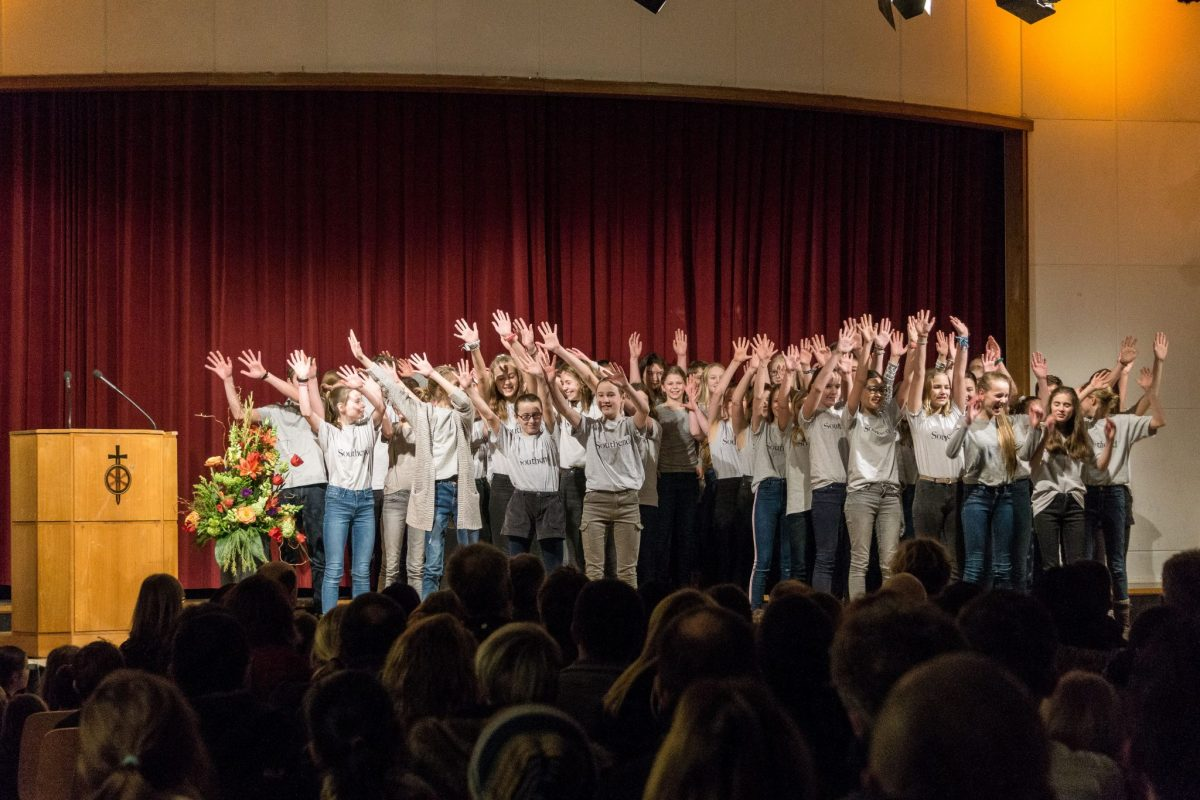 Junges Musical in der Aula