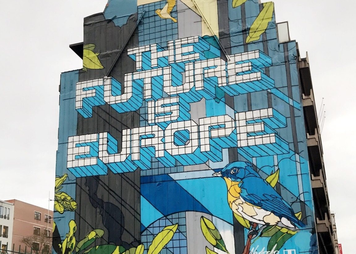 Brüssel als Zentrum Europas