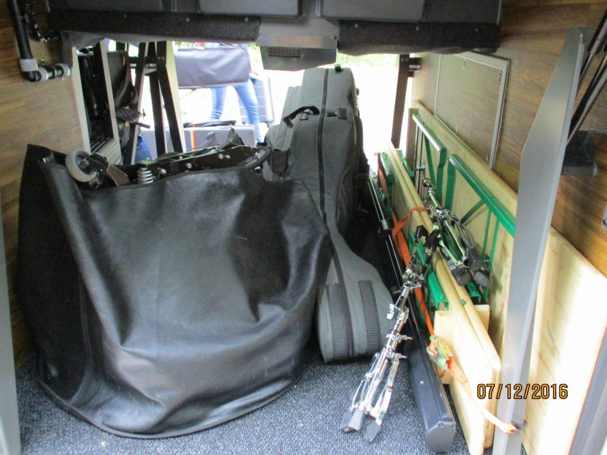 Instrumente im Gepäck