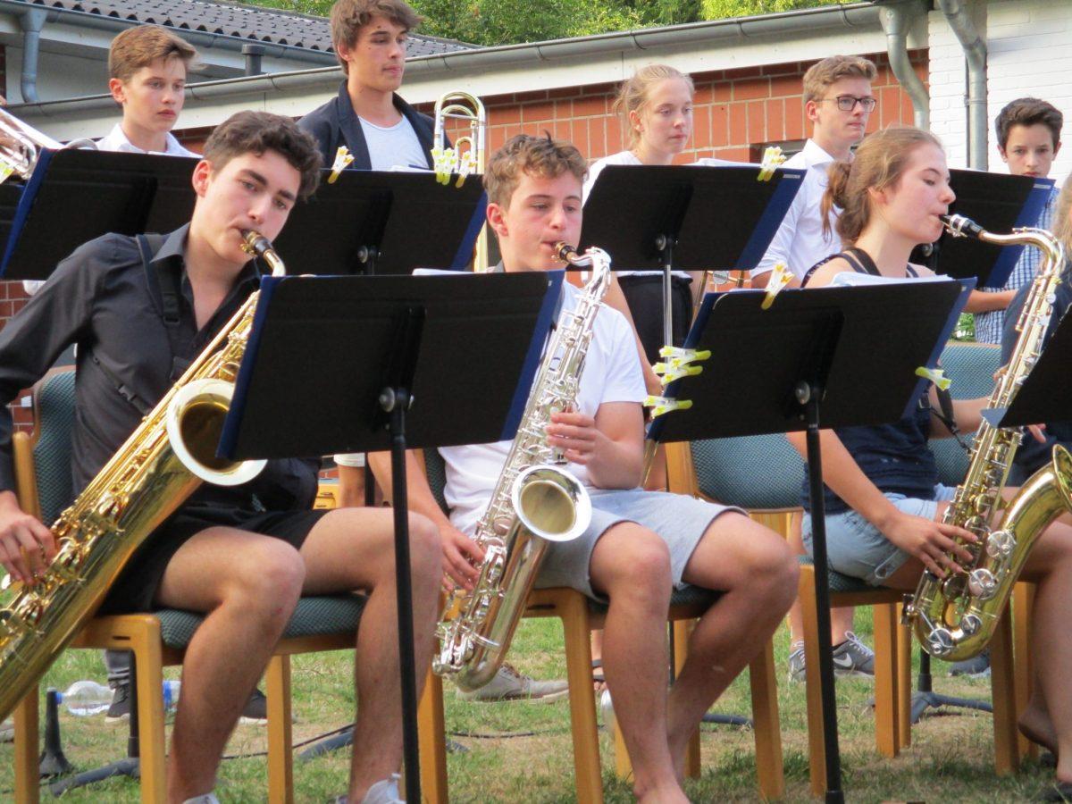 Auftritt der Jazz-Combo