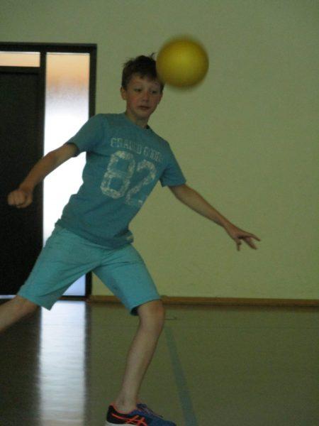 Fußball in der Halle