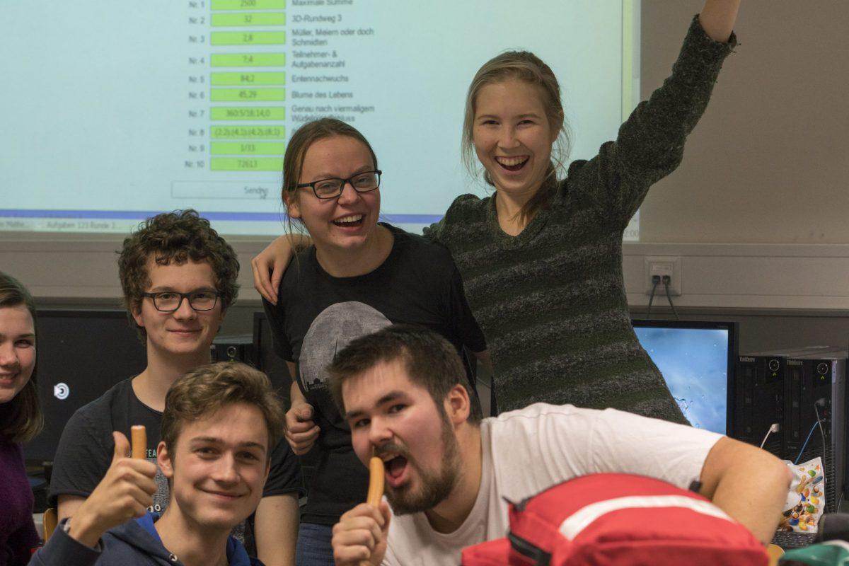 Das Team der Oberstufe: Zweite Runde!