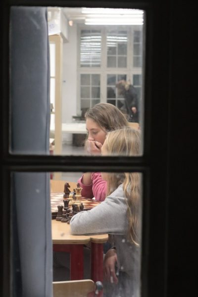 Schachspiel im MuKo-Raum