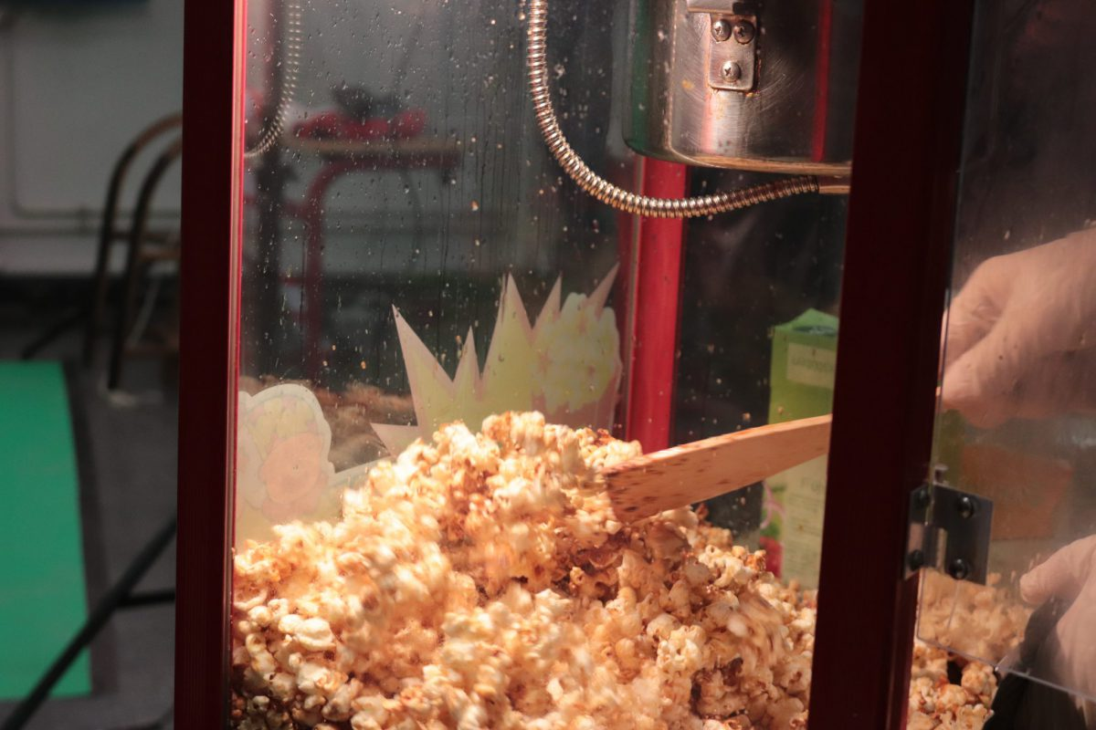 Popcornverkauf