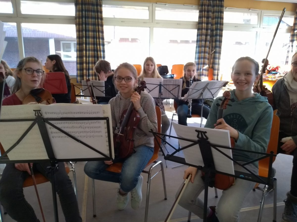 Probenfahrt Schülerorchester 2019