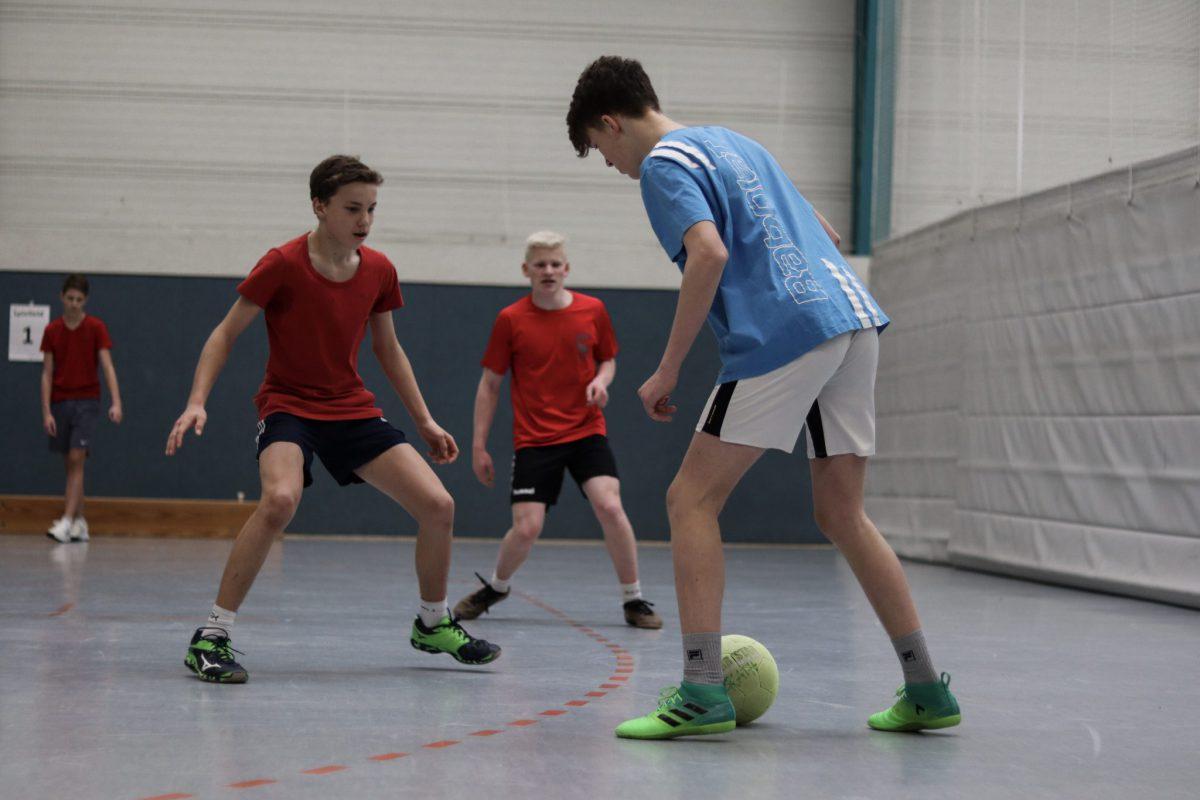 Fußball Jungs-Mannschaft