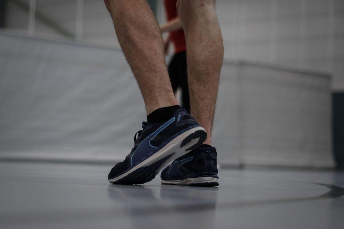 Muskulöse Beine