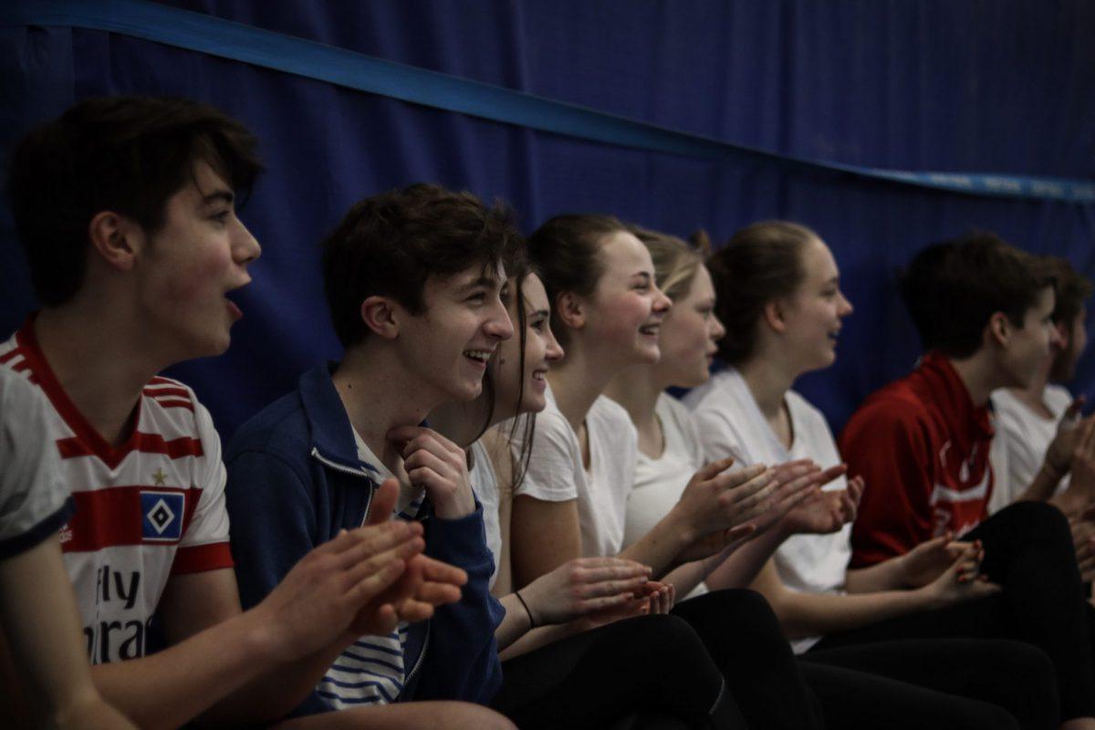 Begeisterung und Spaß bei den Zuschauern
