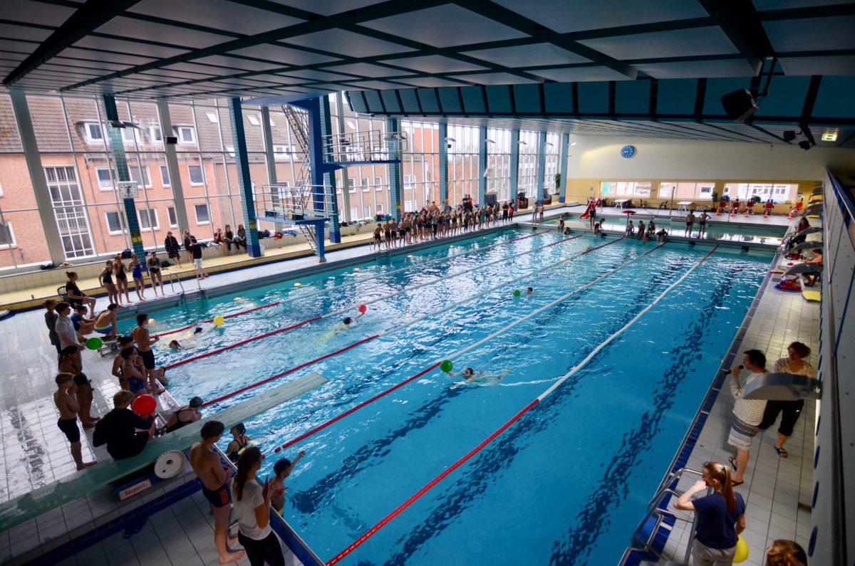 Schwimmen - ein Spektakel