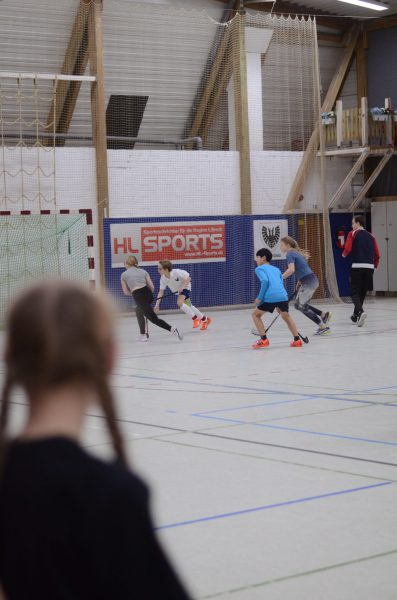 Uni-Hockey in Aktion