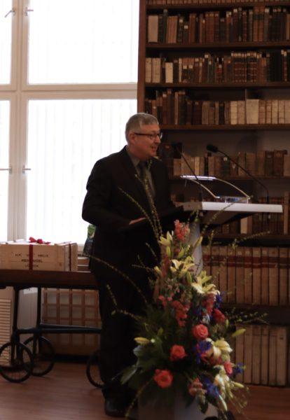 Rede von Herrn Prof. Dr. Schönweiler