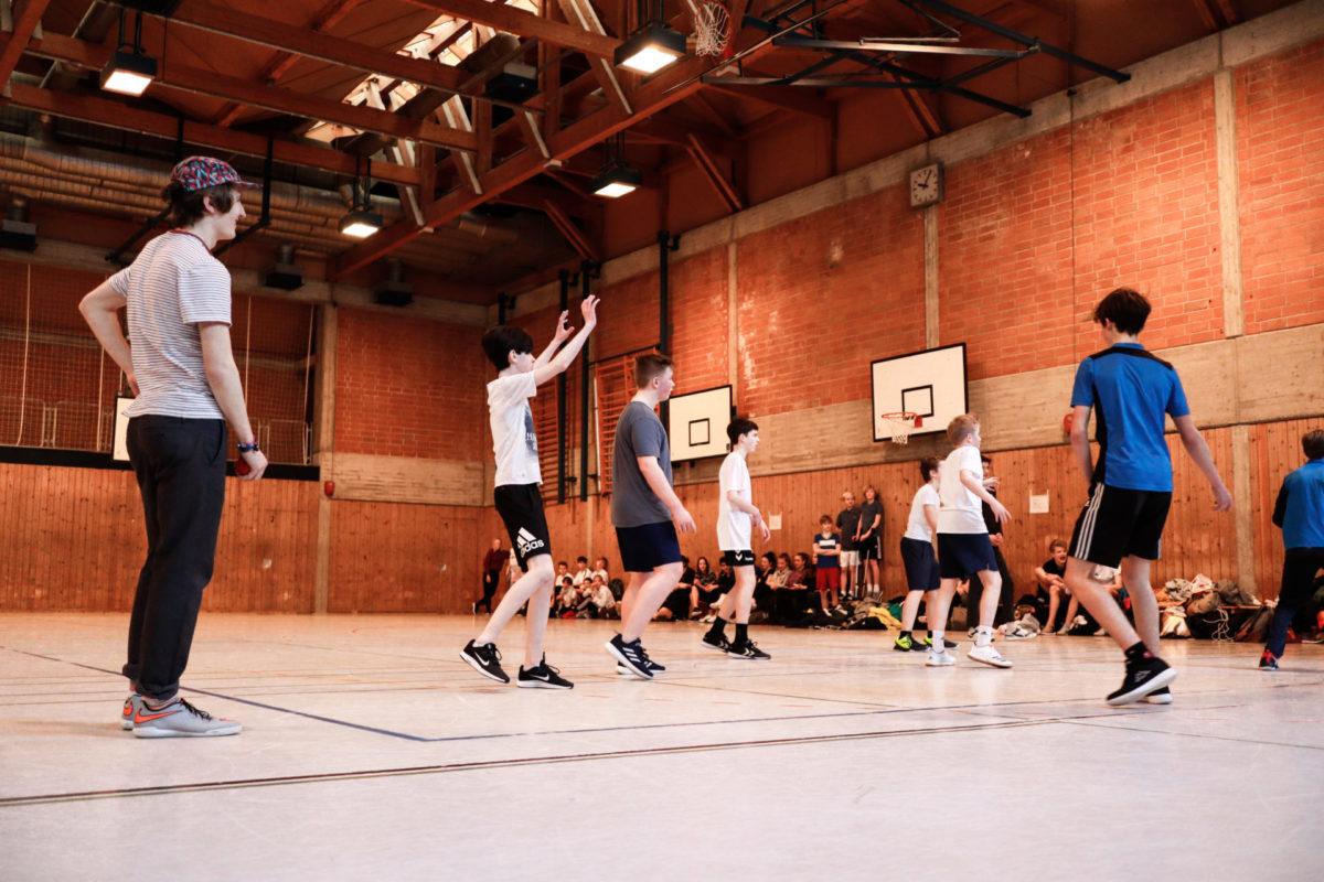 Basketball - Sport- und Spieletag 2020