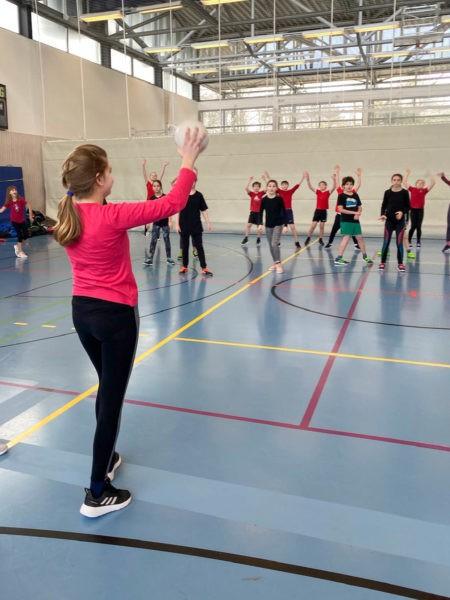Völkerball - Sport-und Spieletag 2020