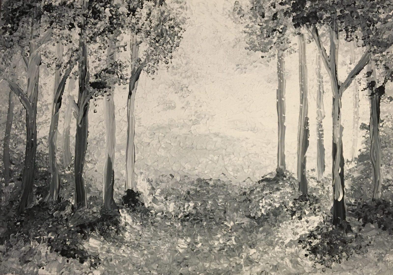 Hanna Ahler, 8. Klasse (Acrylmalerei)