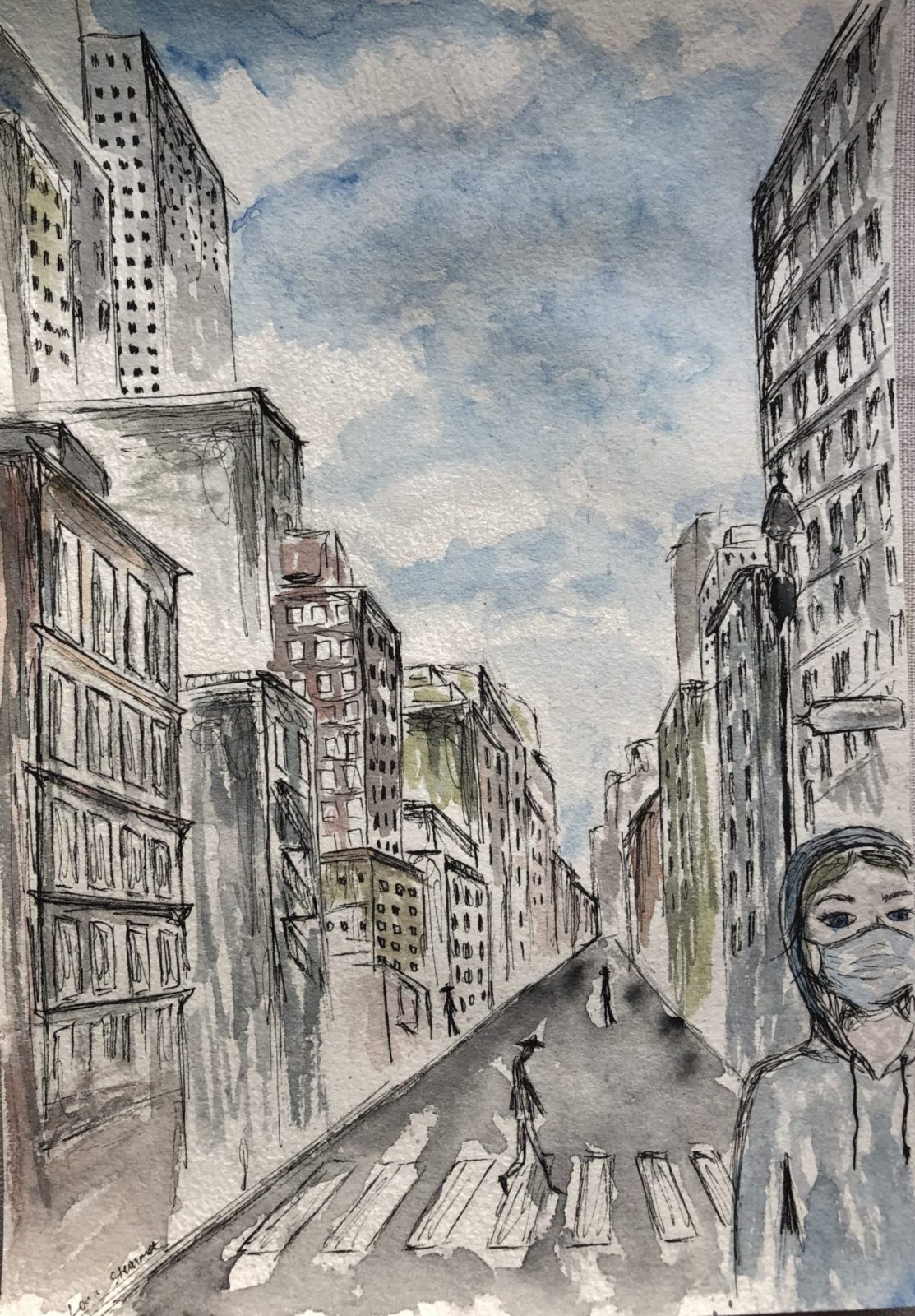 'New York' - Lena Steinmetz (Q1d)