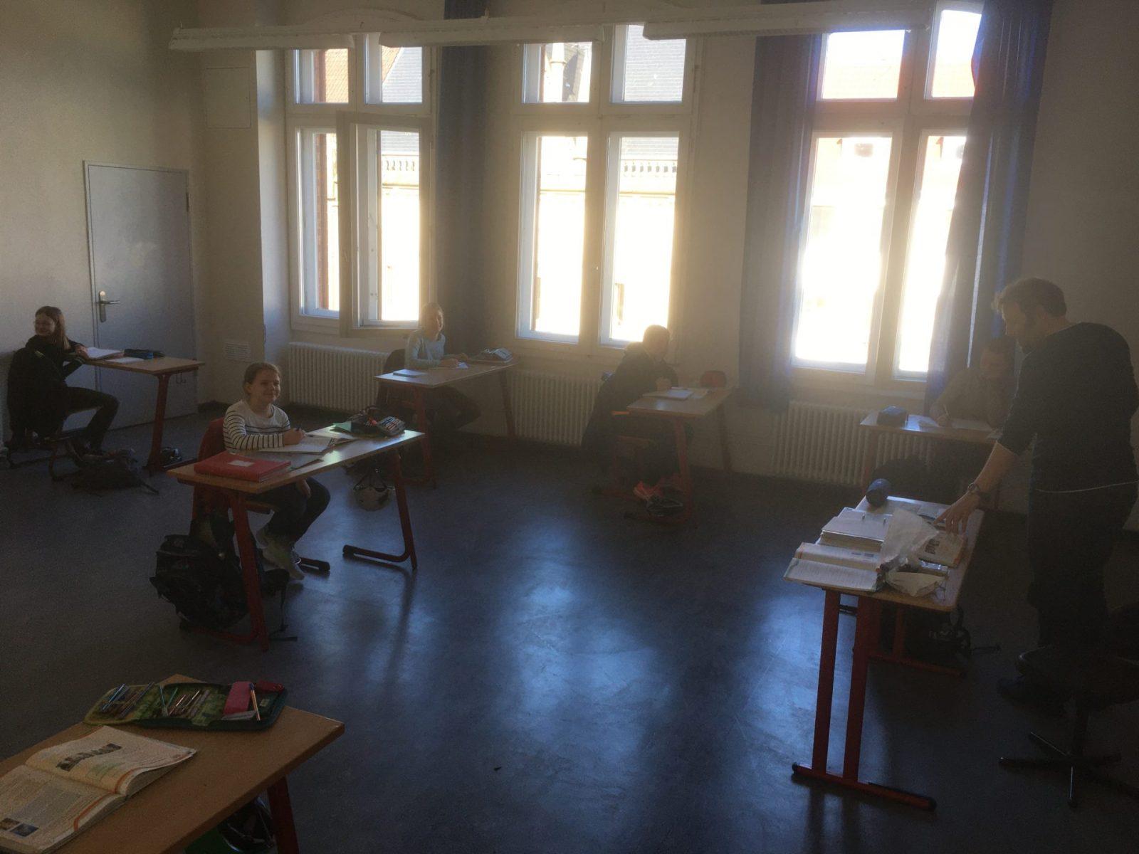 Erster Schultag nach Schulschließung wegen Corona-Krise