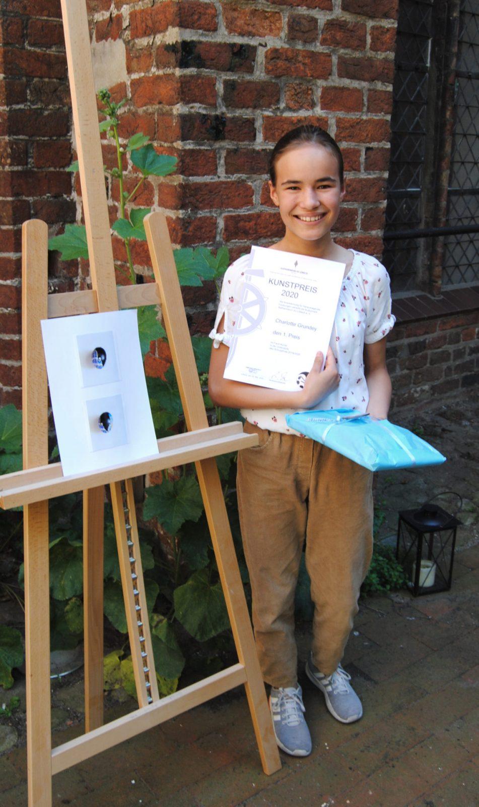 Charlotte Grundey (6b) - 1. Preis - Orientierungsstufe