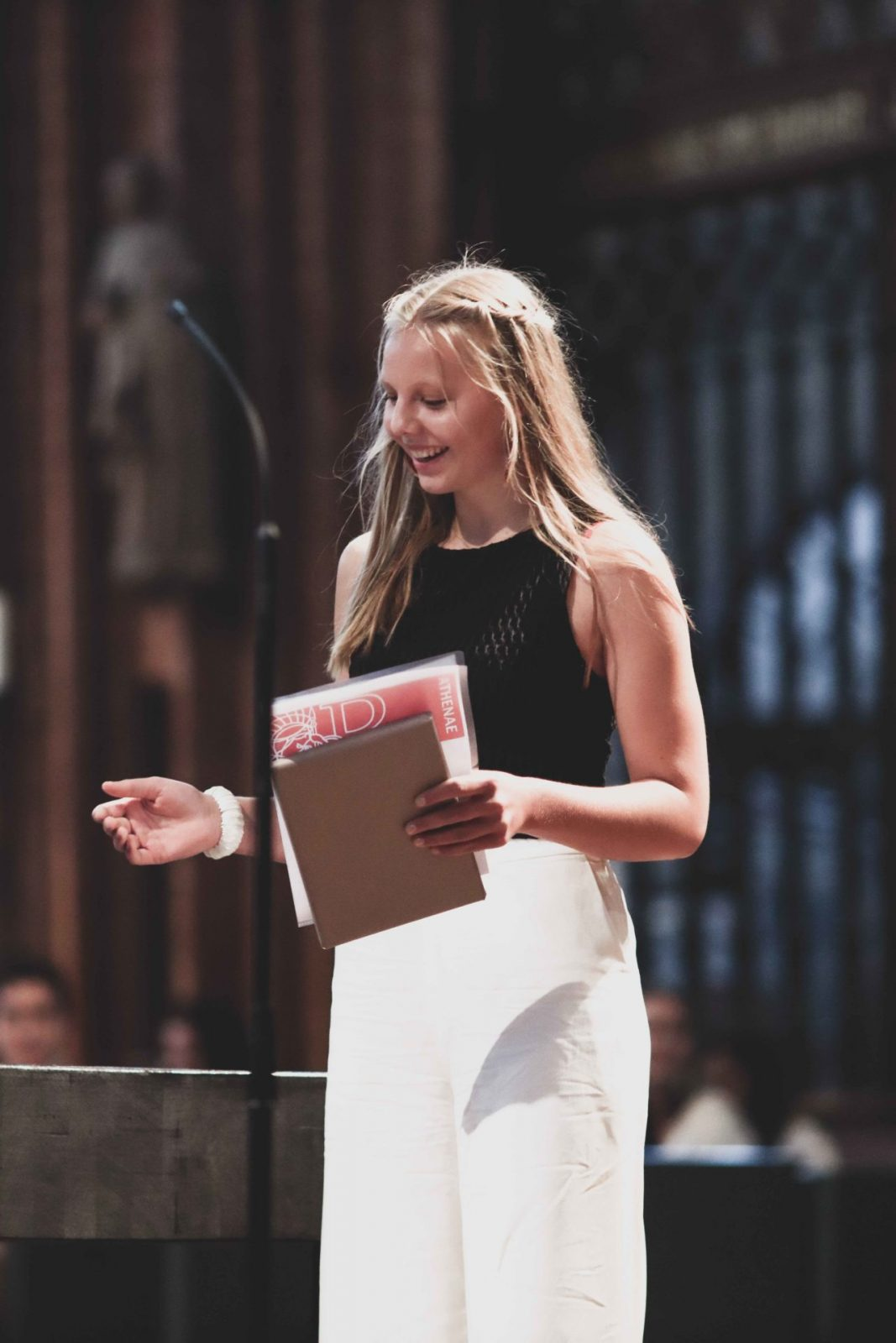 Hannah Tuleweit - Preisträgerin Athaena-Preis