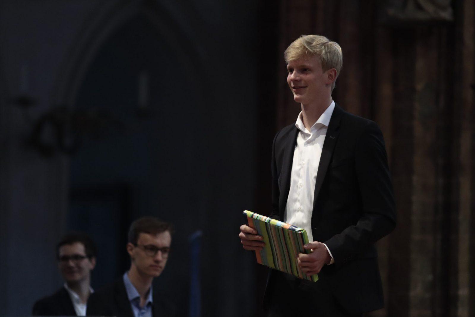 Constantin Lescow - Preisträger des Physik-Preises