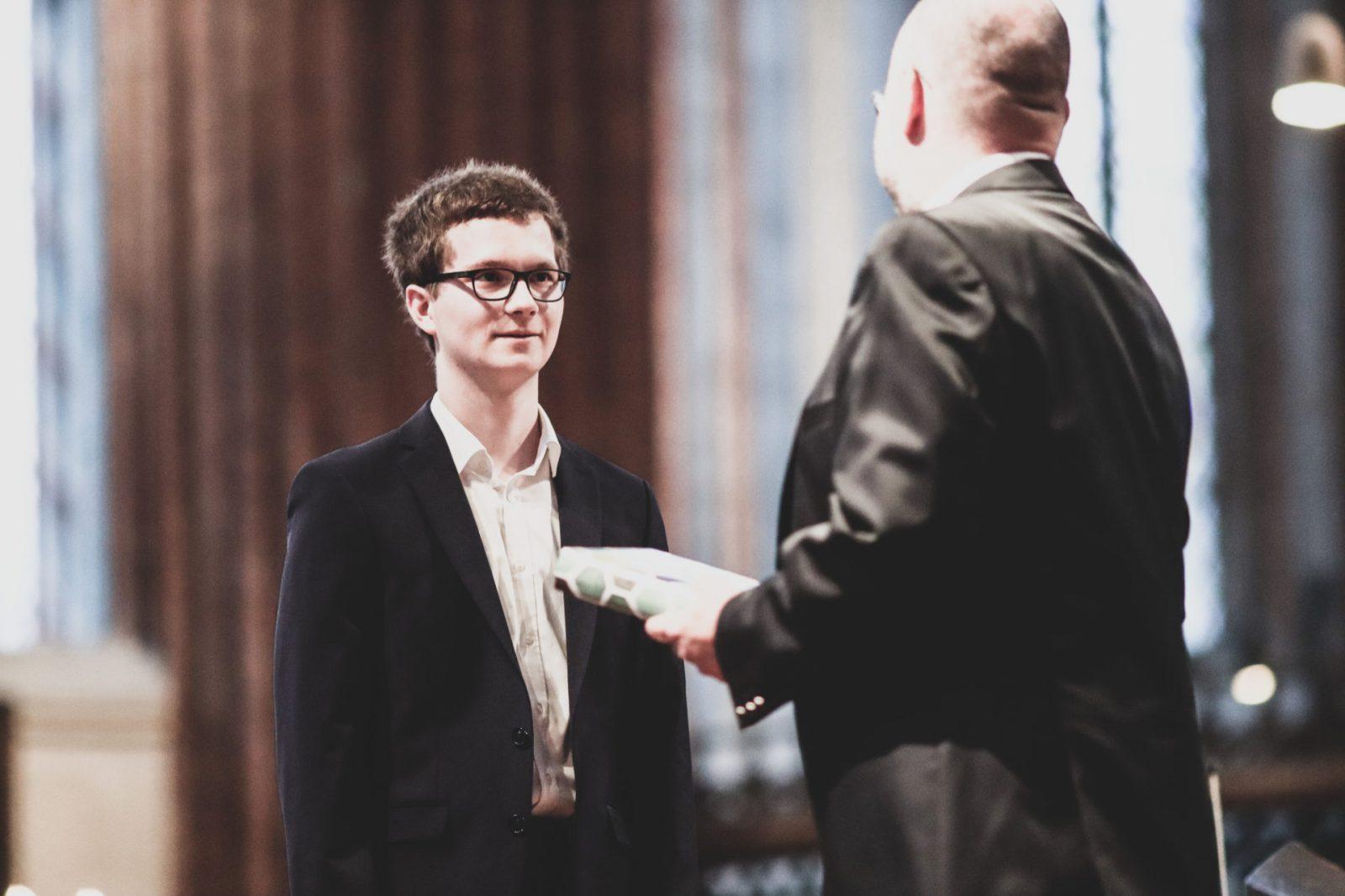 Paul Kiehne - Preisträger Preis der Schule