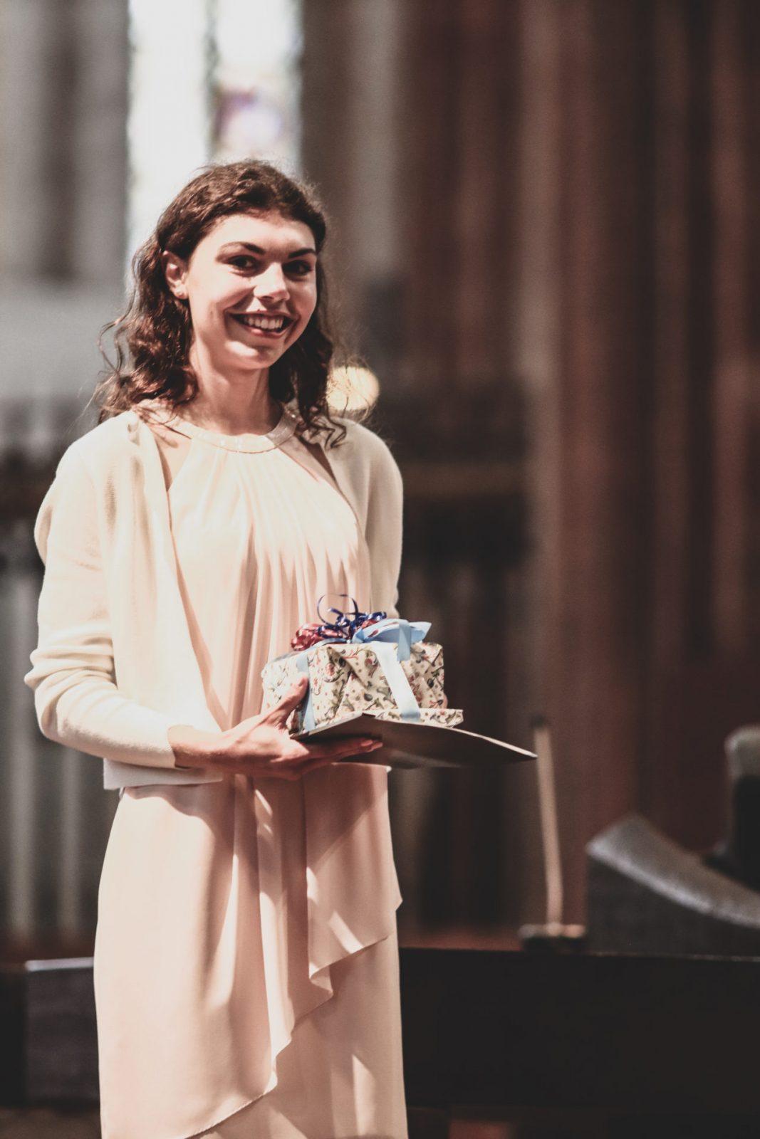 Nina Bahlmann - Preisträgerin des Preises vom Bund der Freunde