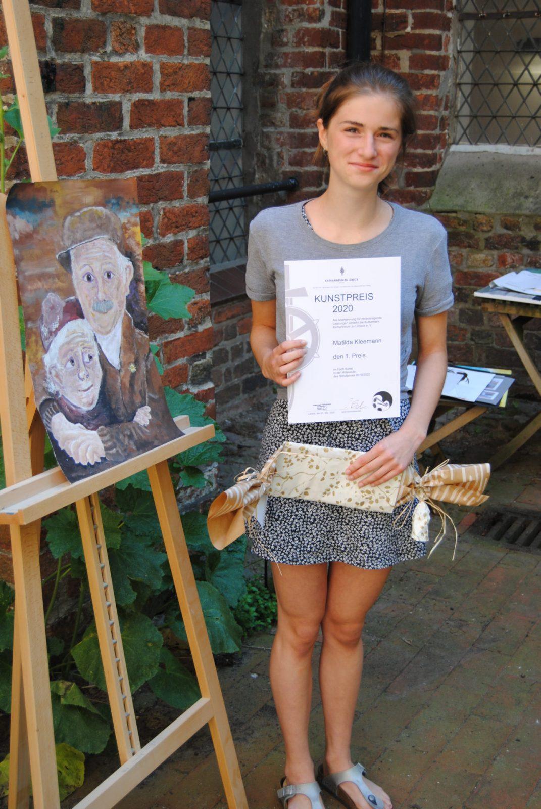 Matilda Kleemann (9d) - 1. Preis Mittelstufe