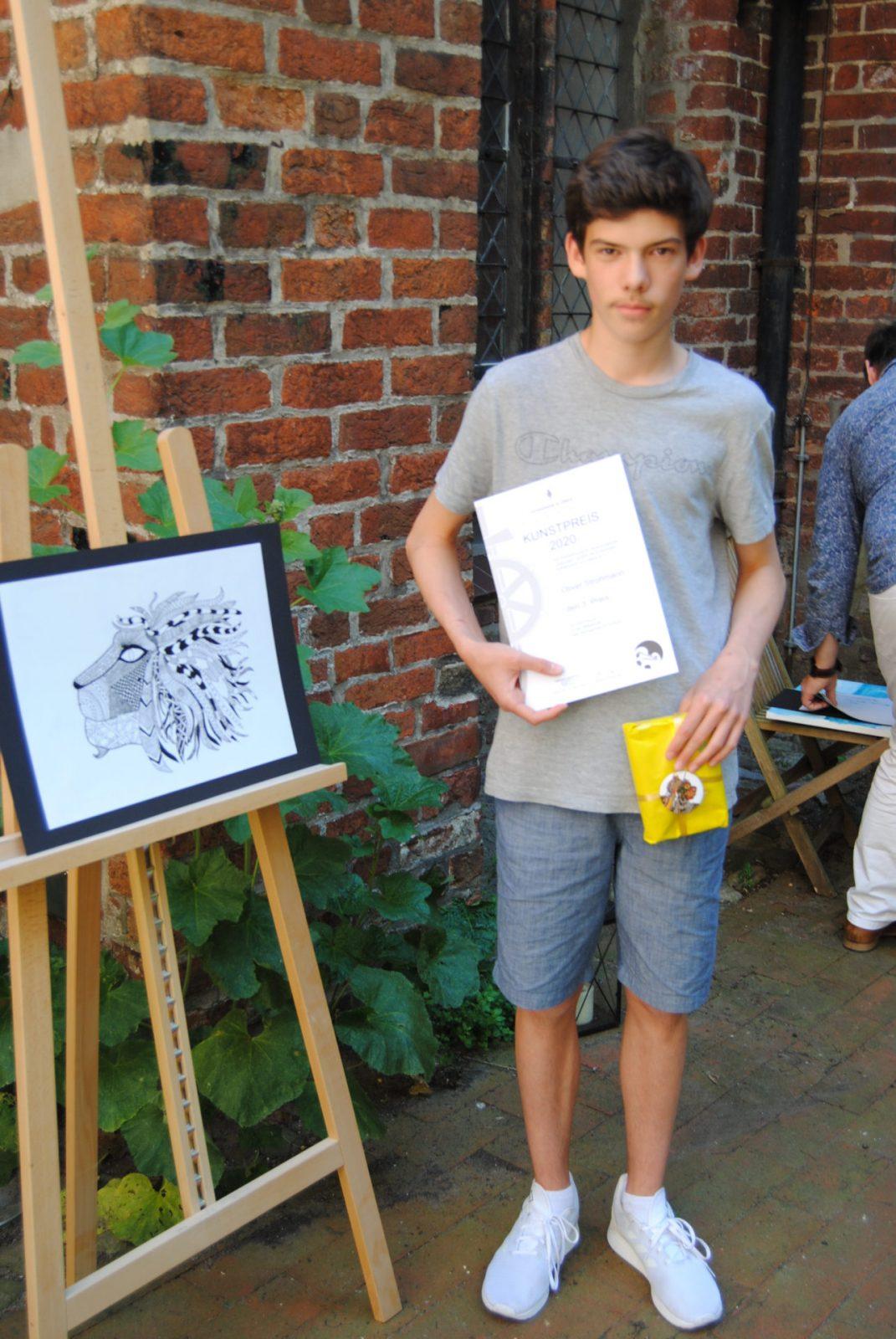 Oliver Strohmann (8a) - 3. Preis Mittelstufe