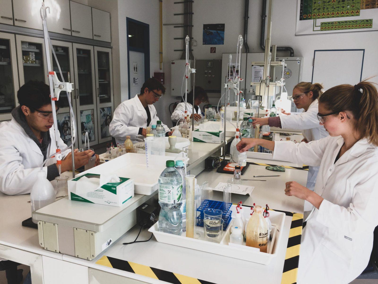 Chemie-Exkursion