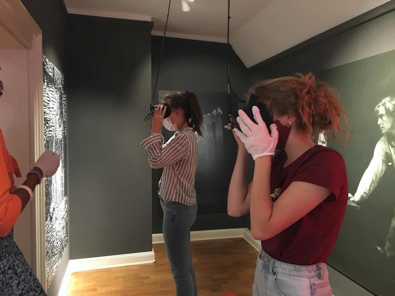 VR-Brillen im Museum