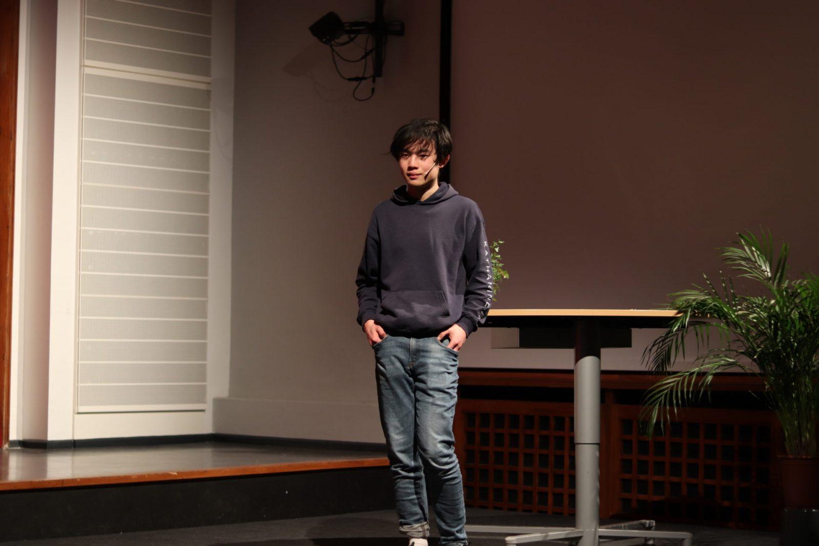 Schüler*innensprecher Hangzhi Yu