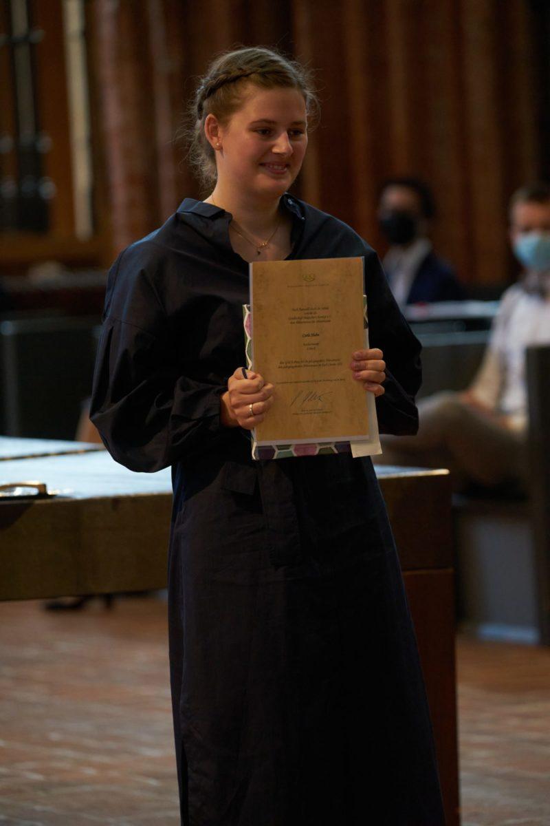 Carla Huhn (Q2b) - Chemiepreis