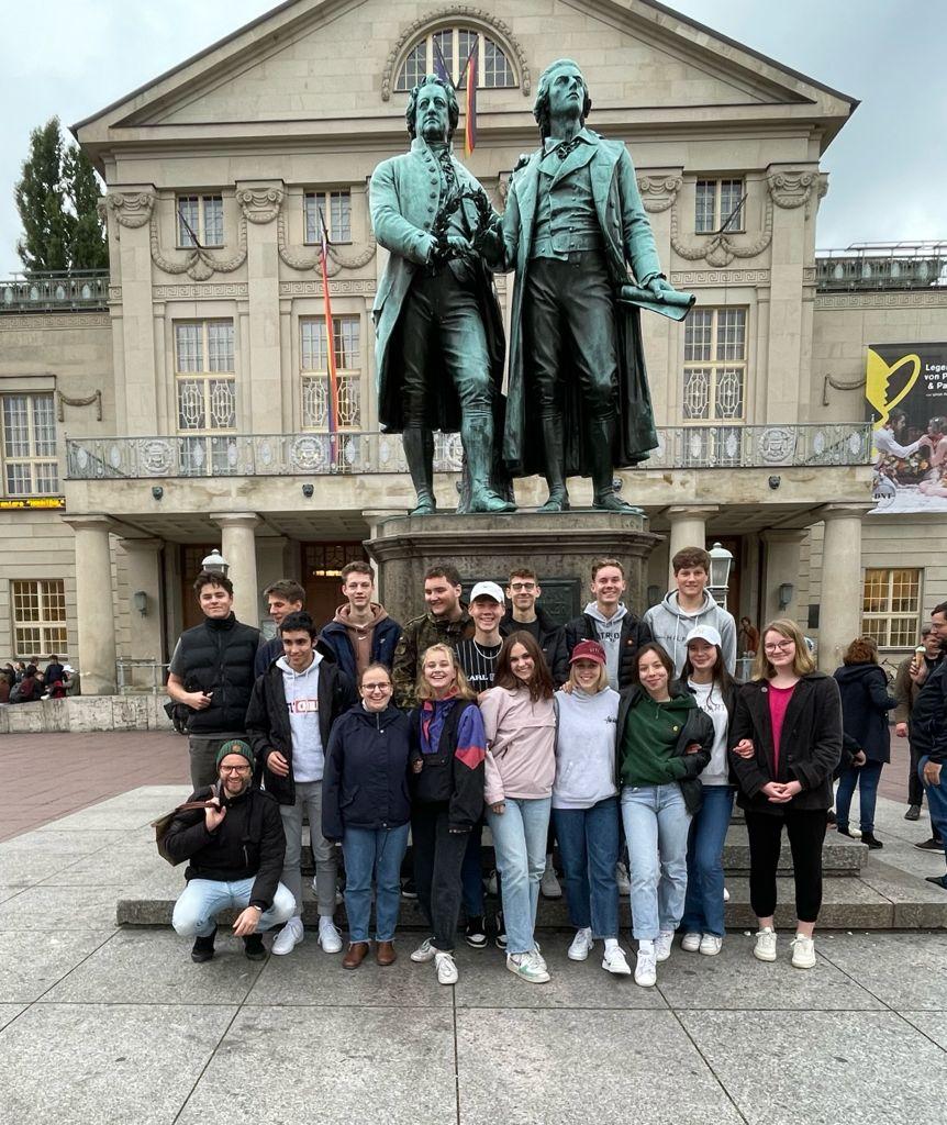 Q1c vor Schiller & Goethe