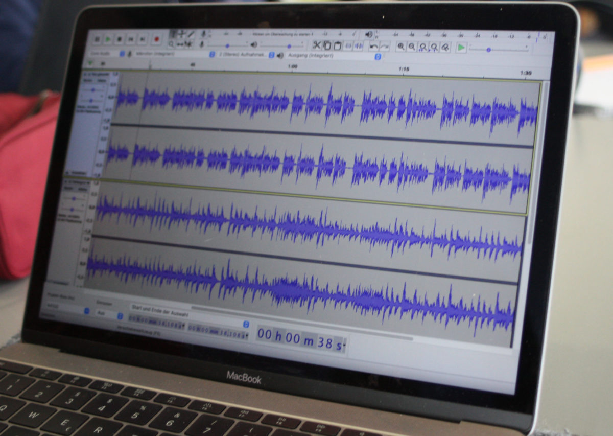 Podcasts schneiden – Projektwoche Ec