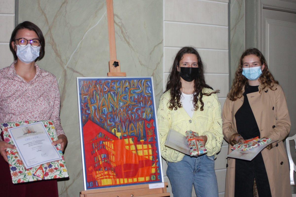 Gewinnerinnen des Plakatwettbewerbs